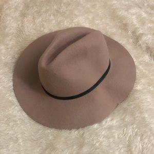 Never worn super cute light pink wool hat